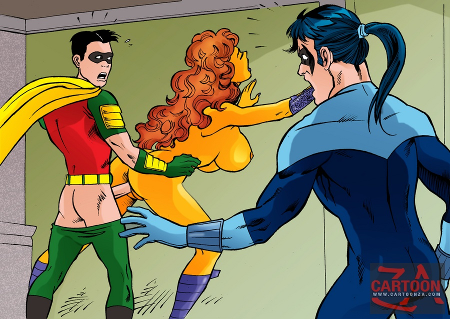 superhero sex cartoons